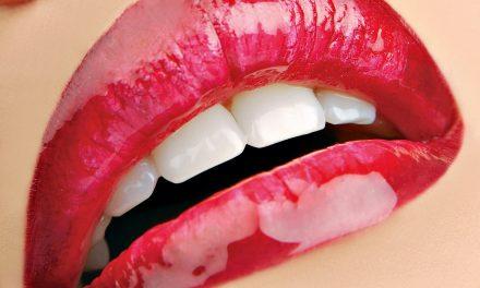 Smukke læber er silkebløde
