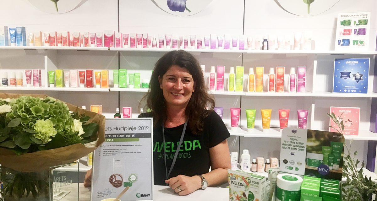 Weleda vinder Årets Hudpleje hos Helsam