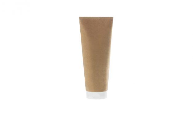 Den første pap-baserede tube til kosmetik har set dagens lys
