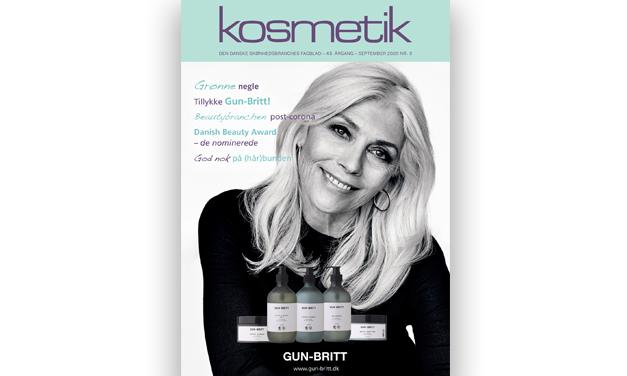 Kosmetiks september-nummer er på vej med posten